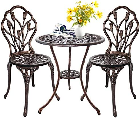 HOMEFUN Bistro Table Set