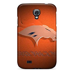 Tpu Shockproof/dirt-proof Denver Broncos Simple Cover Case For Galaxy(s4)