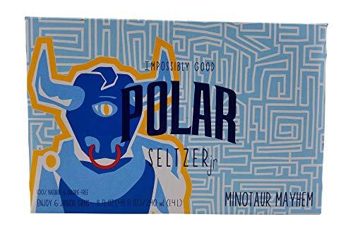 Polar Seltzer Impossibly Good Minotaur Mayhem 6 pk 8 oz. cans.