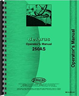 belarus 250as tractor operators manual belarus 0718349093231 rh amazon com Belarus 250AS Tractor Data 1988 Belarus Tractors Model