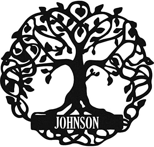 Badger Steel USA Tree of Life Personalized