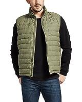 32 Degrees Weatherproof Men's Down Packable Vest With Storage Bag