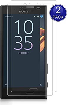 X-Dision [2 Piezas Protector de Pantalla para Sony Xperia X ...