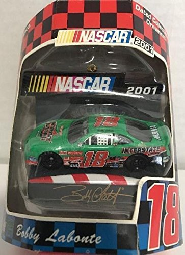 2001 - NASCAR - Bobby Labonte #18 - Interstate Batteries Collectible Ornament - Mint