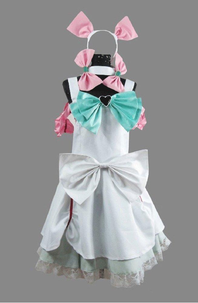 Pretty Cure Guoqueen carga felicidad! Blanco Lolita Cosplay ...