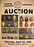North Dakota Pottery Auction Saturday April 22 1980 Mandan, North Dakota
