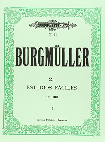 25 Estudios Fáciles, Op. 100