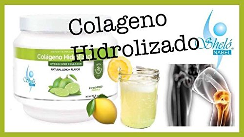 Amazon.com: Colageno Limon Shelo Nabel Polvo/ Collagen Lemon Powder 450 gr.: Health & Personal Care