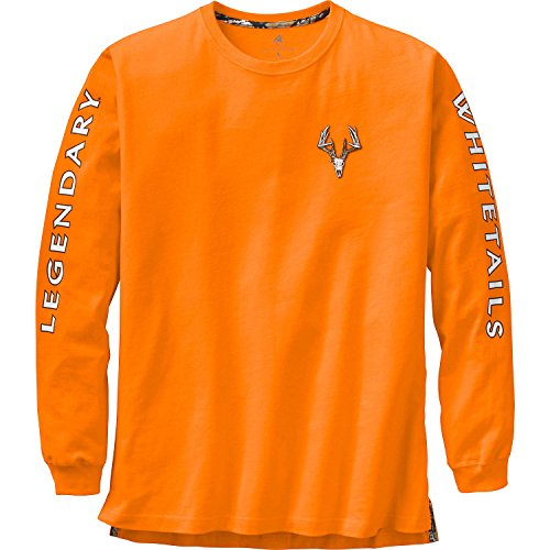 Legendary Whitetails Men's Non-Typical Series Long Sleeve Tee Inferno XXX-Large