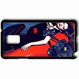 Personalized Samsung Note 4 Cell phone Case/Cover Skin Anne Hathaway Black