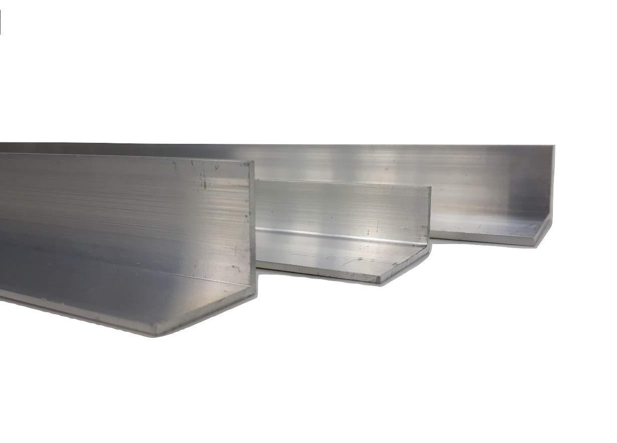 12 mm x 12 mm x 2 mm x 2000 mm Aluminium Angle Various Sizes
