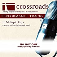 No Not One (Made Popular By Phil Cross) [Performance Track]