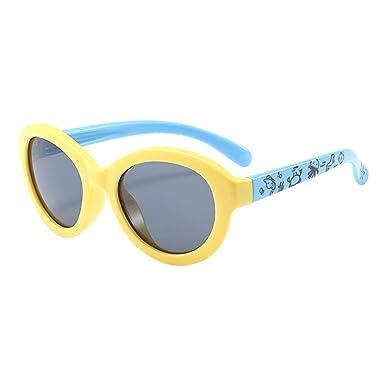 Goyajun Polarizado Niños Gafas de sol, Anti Glare UV400 ...