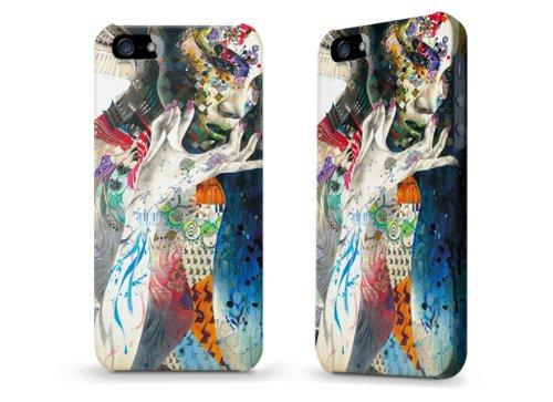 """Hülle / Case / Cover für iPhone 5 und 5s - """"Indian"""" von Minjae Lee"""
