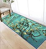 GSJJ Home and Kitchen Rugs Floor Mats Non-Slip Rubber Backing Doormat for Door Entrance/Bedroom/Bathroom/Desk,C,50150CM