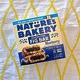 Nature's Bakery Gluten Free Fig Bars, Blueberry, 1- 12 Count Box of 2oz Twin Packs (12 Packs), Vegan Snacks, Non-GMO