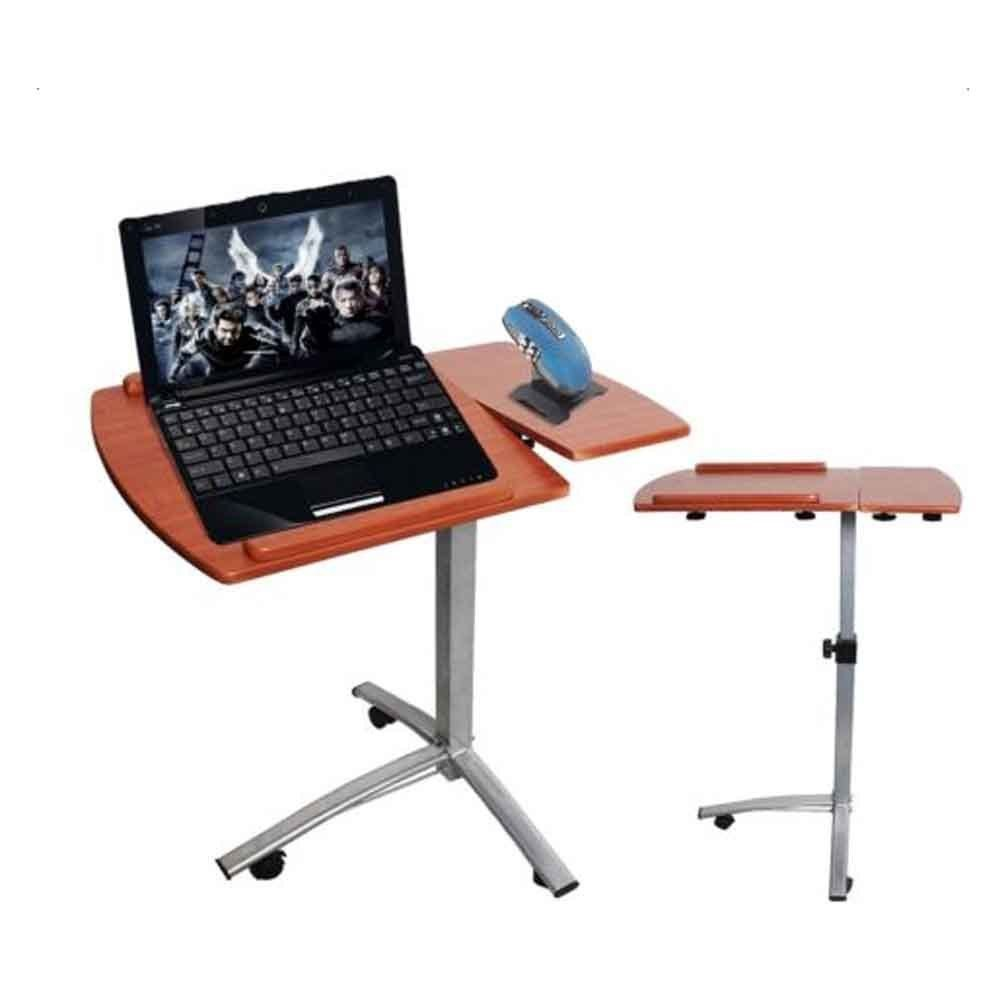 Angle & Height Adjustable Rolling Laptop Desk