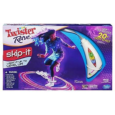 Twister Rave Skip-It Game, White: Toys & Games