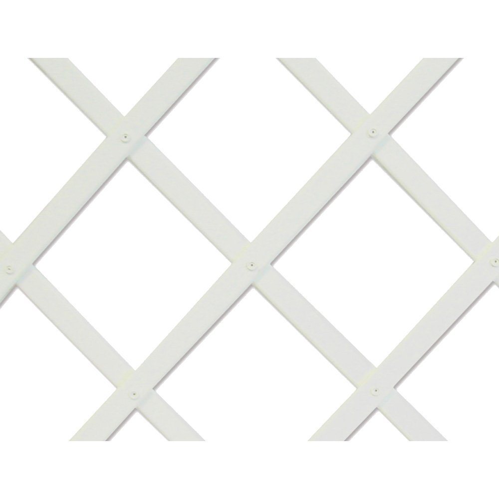 Intermas–Celosia estensibile bianca Intermas 0, 5x 1, 5m