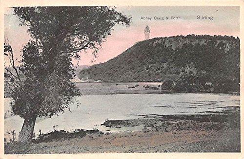 Abbey Craig & Forth Stirling Scotland, UK Postcard