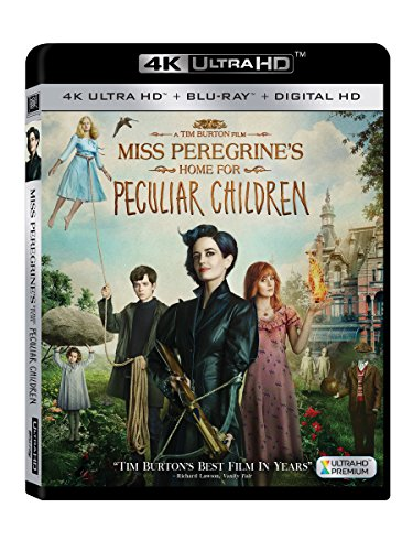 Miss Peregrine's Home for Peculiar Children (4K UHD + Blu-ray + Digital HD) (Man With No Name Trilogy Blu Ray)