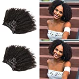 Best Clip In Hair Extensions For African American Hairs - Slove Hair African American Afro Kinky Curly Clip Review
