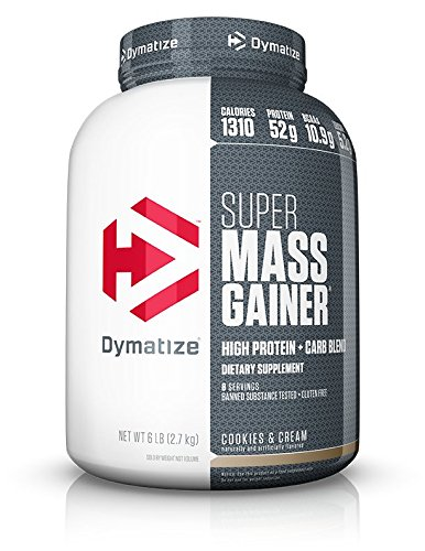 Gainer Weight Creatine (Dymatize Super Mass Gainer, Cookies and Cream, 6 lbs)