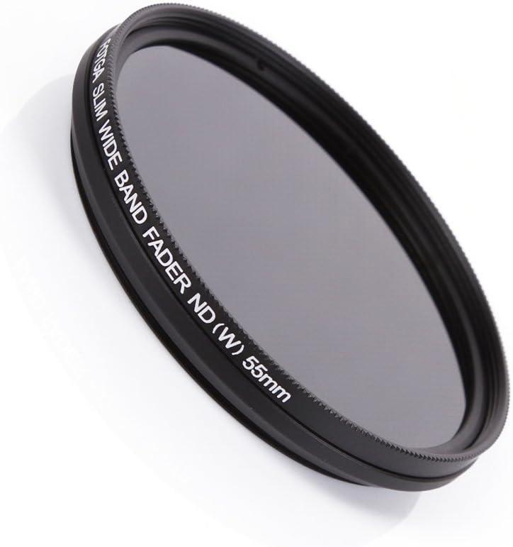 FOTGA 55 mm Slim Fader ND Filtro de densidad neutra variable ajustable de ND2 a ND400