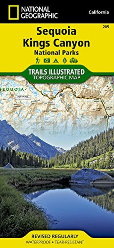 Download Sequoia and Kings Canyon National Parks (National Geographic Trails Illustrated Map) ebook