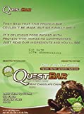 quest bars 36 - Quest Nutrition Mint Chocolate Chunk (Pack of 36)