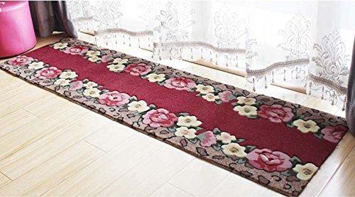 WYMBS Anti-slip padcm long mats kitchen door entrance door mat living room has a non-slip pad bedroom water absorption wc ,45240cm carpet