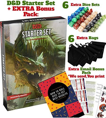 Dungeons Dragons Starter Set 5th Edition - DND Starter Kit...