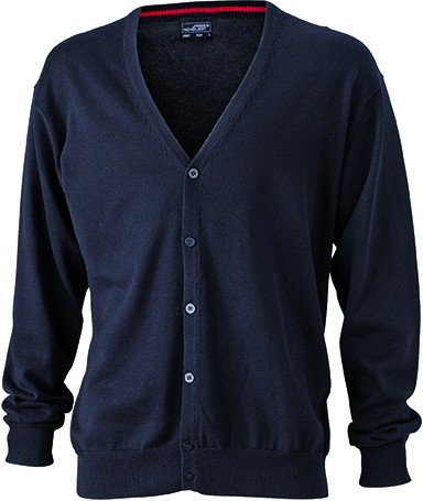 Cardigan V Heather Men's Grey V with Men's Neck Cardigan Neck IHWqCqRwp