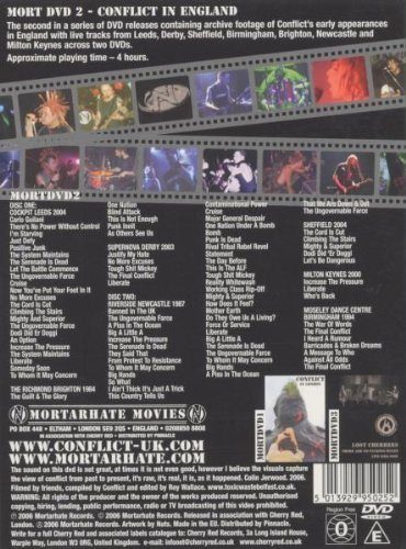 CONFLICT - LIVE IN ENGLAND