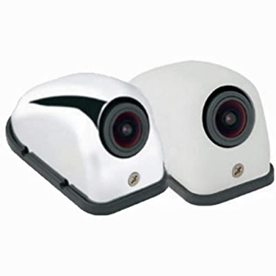 VOYAGER VCMS12LWTR Model VCMS12 Color Left Side CMOS Camera, White Housing, Replaces VCMS36 L/R/T and VCCSID L/R: Automotive