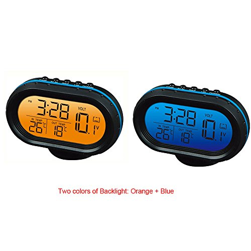 Yosoo Thermometer Voltmeter Multifunctional Temperature product image
