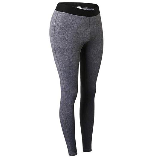 PFSYR Pantalón Deportivo para Mujer Fitness Body Yoga Pants ...