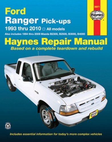 Ford Ranger Pick-ups, 1993-2010 (Haynes Repair Manual)