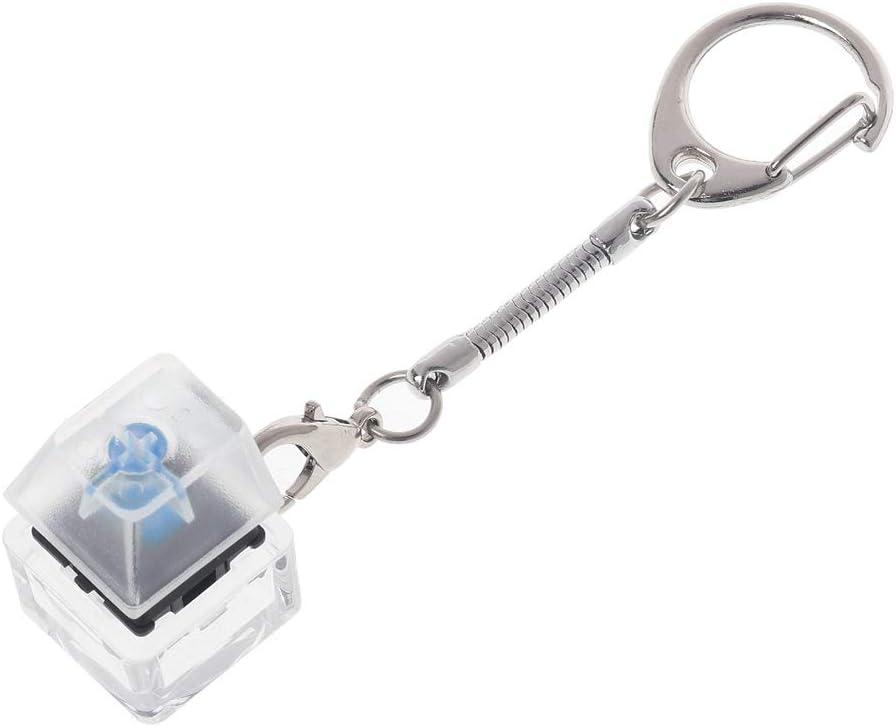 Cherry MX Blue Mechanical Switch Keychain