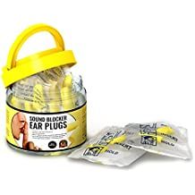 Ear Plugs for Sleeping, Block Snoring & Loud Noise So You Can Sleep & Get Your Life Back Now! 30 Pairs Individually Wrapped Sound Blocker Earplugs for Hearing Protection Anywhere, Anytime You Need It!