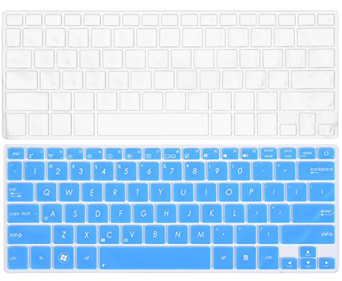 2PCS ASUS Keyboard Skin for 13.3 ASUS UX31E UX31A UX32A UX32VD UX301LA UX302LG UX303LA UX303LB UX303LN UX303UA UX303UB UX305CA UX305FA UX305LA UX306UA UX330CA UX330UA Q302LA Q302UA Q304UA Q324UA