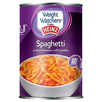 Weight Watchers Espaguetis En Salsa De Tomate Heinz Con 395g De Perejil