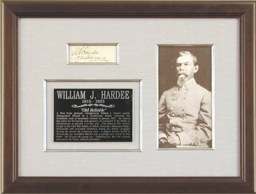 lt-general-william-j-hardee-signature