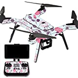 MightySkins Protective Vinyl Skin Decal for 3DR Solo Drone Quadcopter wrap cover sticker skins Vintage Floral