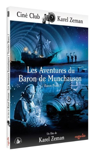 The Fabulous Baron Munchausen (1961) ( Baron Práail ) ( The Original Fabulous Adventure of Baron Munchausen ) [ NON-USA FORMAT, PAL, Reg.0 Import - France ] (The Adventures Of The Baron Of Munchausen)