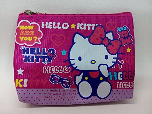 CJB Sanrio Japan Hello Kitty Mini Coin Pocket Rose Pink Glasses (US Seller) by CJB KT