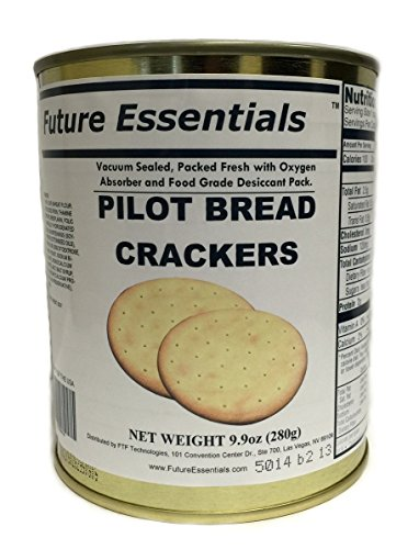 - 1 Can of Future Essentials Sailor Pilot Bread by Future Essentials