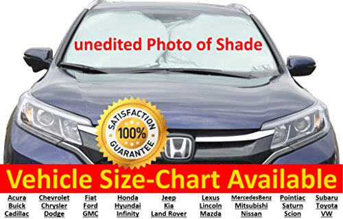 Windshield Shade 210TNylon SIZE CHART AVAILABLE product image