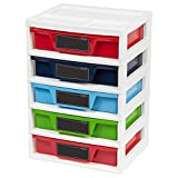 14.6 in. x 20.65 in. Assorted Plastic Drawer Storage and Organizer Chest