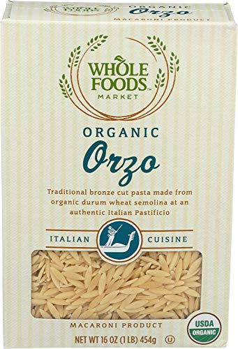Whole Foods Market, Organic Orzo, 16 oz